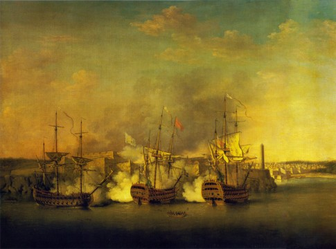Bombardment of the Morro Castle 1 July 1762