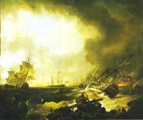 The Battle of Quiberon Bay, 21 November 1759, the Day After
