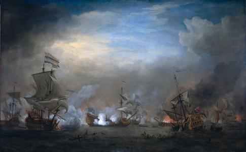 Battle of Texel (Slag bij Kijkduin), August 21st, 1673