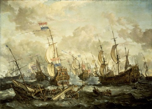 The \'Royal Prince\' and other Vessels at the Four Days Battle, 1–4 June 1666