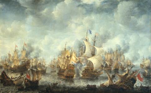 Battle of Scheveningen (Slag bij Ter Heide)