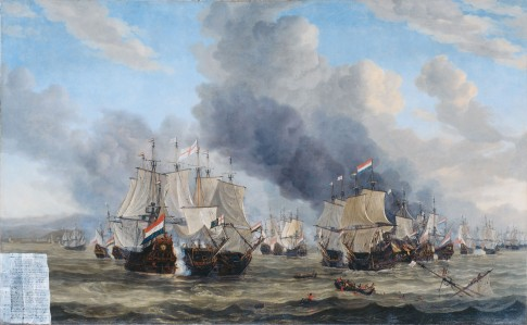 The Battle of Livorno (De zeeslag bij Livorno) Reinier Nooms