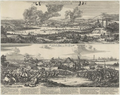 Chatham Expedition  and the Capture of the Sheppey Island, 1667