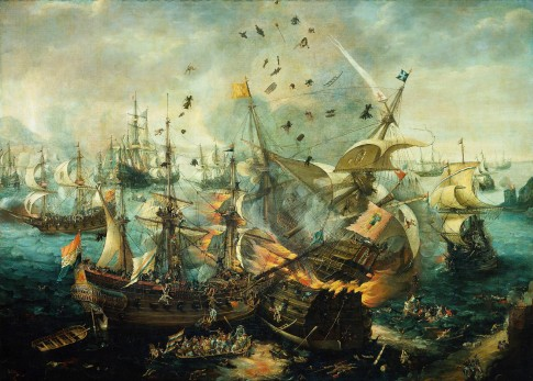 Battle-of-Gibraltar-1607